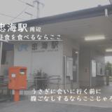 うさぎの島の最寄【忠海駅】近辺でランチにつかえるお店
